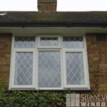 Silent, View, Windows, Chinnor, Oxfordshire, Haddenham, Buckinghamshire, uPVC, PVC, PVCu, Window, WHS, Halo, Rustique, Double, Glazing, White, Decorative, Diamond, Lead, Silver