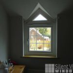 Silent View Windows, Chinnor, Oxfordshire, Ludgershall, Buckinghamshire, PVC, uPVC, PVCu, Window, Windows, Eurocell, Ovalo, Double Glazing, White