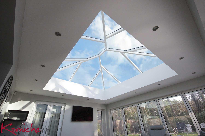 Korniche Roof Lantern Installation | Silent View Windows
